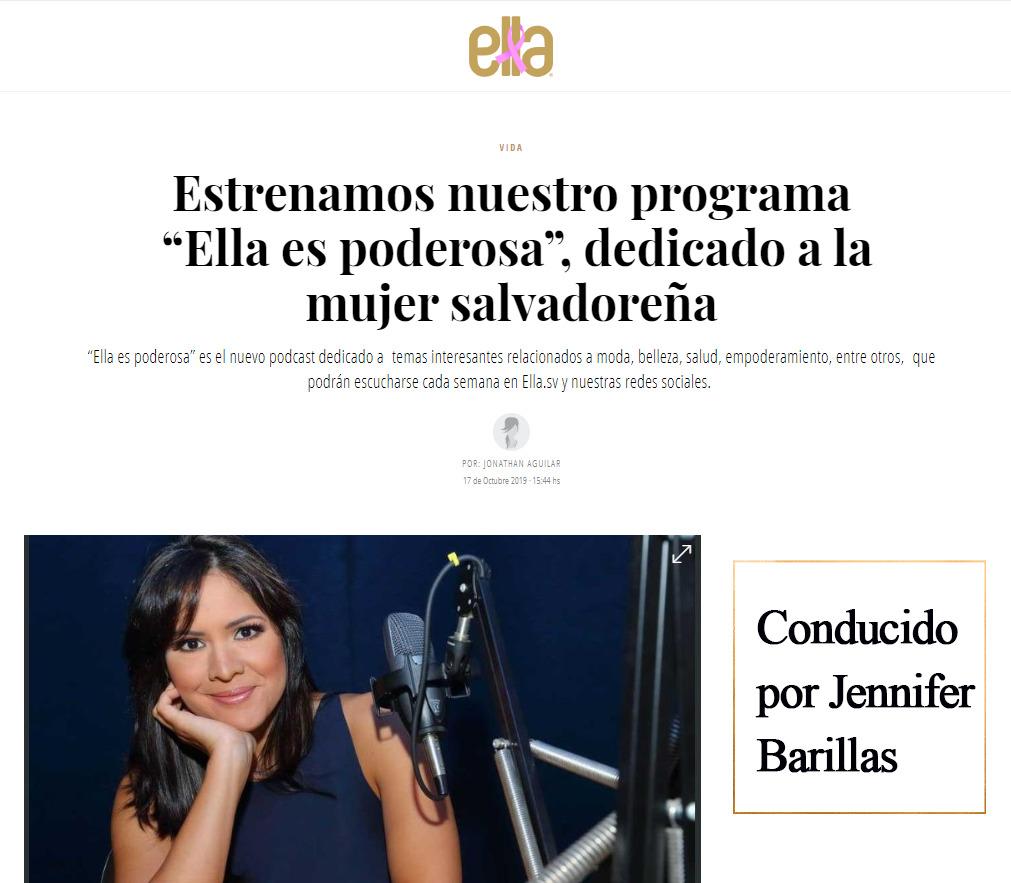 #ELLA ES PODEROSA